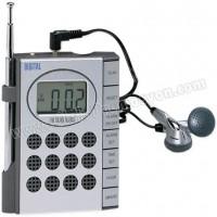 Ucuz Promosyon Mini Radyo Dijital Saatli ve Kulaklıklı GRD158