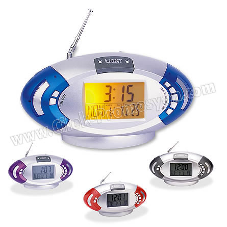 Ucuz Promosyon Mini Radyo Termometreli ve Takvimli GRD130