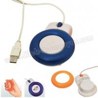 Ucuz Promosyon Ortopedik Usb Mouse GBA3144