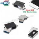 Toptan Ucuz Promosyon OTG Flash Bellek 16 GB - OTG Özellikli - Metal AFB3255