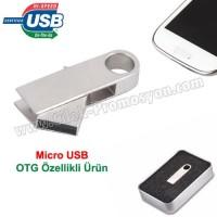 Ucuz Promosyon OTG Flash Bellek 8 GB - OTG Özellikli - Metal AFB3252