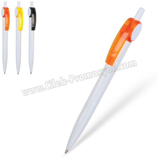 Ucuz Promosyon Plastik Tükenmez Kalem AKL24158