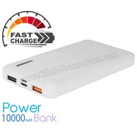 Ucuz Promosyon PowerBank 10000 mAh - Hızlı Şarj Özellikli APB3784