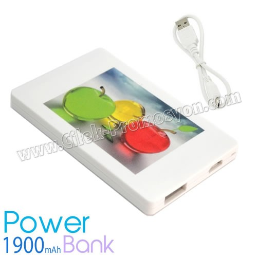 Ucuz Promosyon PowerBank 1900 mAh APB3763
