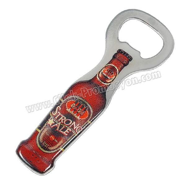 Ucuz Promosyon Şişe Açacağı Magnetli - Metal Özel Tasarım AA1626