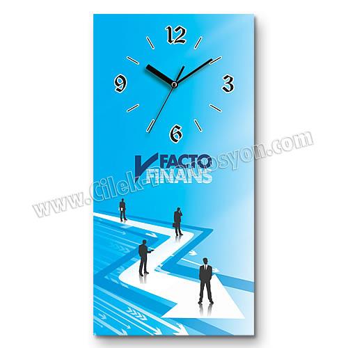 Ucuz Promosyon Tasarım Duvar Saati 25x50 Cm AS20131-D