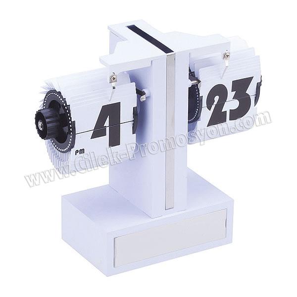 Ucuz Promosyon Masa Saati Yaprak Mekanizmalı AS20527-B