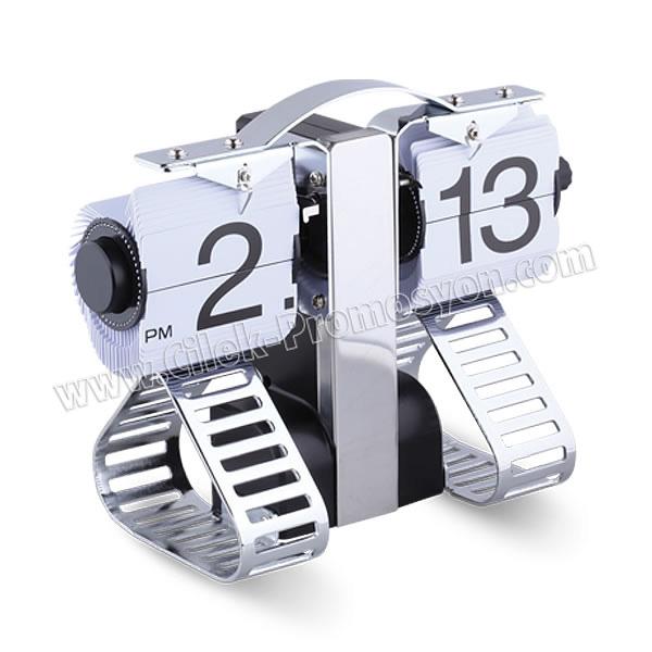 Ucuz Promosyon Dekoratif Robot Saat Yaprak Mekanizmalı AS20529