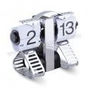 Toptan Ucuz Promosyon Dekoratif Robot Saat Yaprak Mekanizmalı AS20529