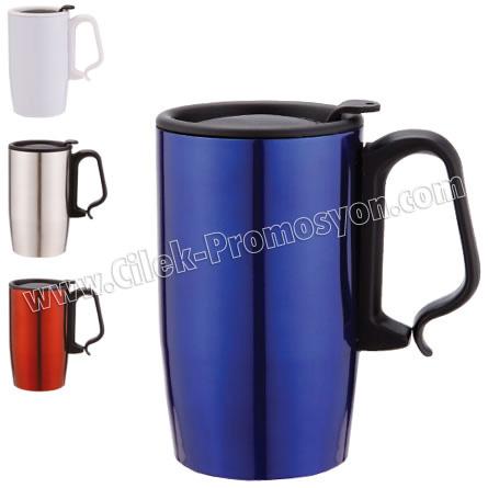 Thermos Mug 350 mL - Metal GTM21 - Ücretsiz Baskı ve Ücretsiz Kargo