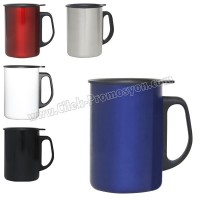 Ucuz Promosyon Termos Bardak - Kupa - Mug 350 mL - Metal ATM21087
