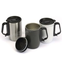 Ucuz Promosyon Termos Bardak - Kupa - Mug 400 mL - Metal ATM21098