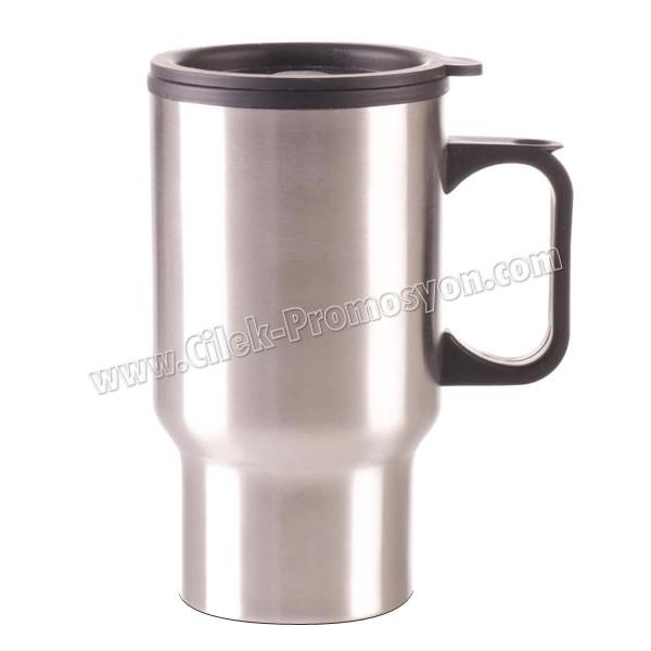 Thermos Mug 450 mL - Metal ATM21052 - Ücretsiz Baskı ve Ücretsiz Kargo