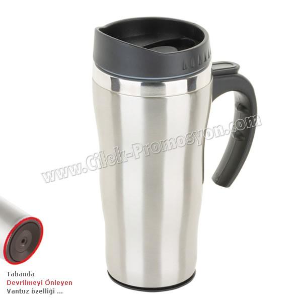 Ucuz Promosyon Devrilmez Termos Bardak - Kupa - Mug 475 mL - Metal ATM21091