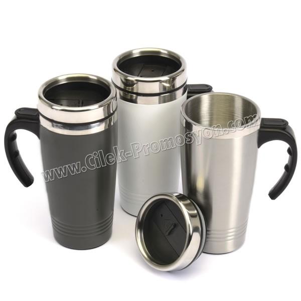 Ucuz Promosyon Termos Bardak - Kupa - Mug 500 mL - Metal ATM21097