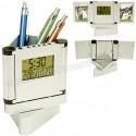 Toptan Ucuz Promosyon Ucuz Kalemlik Saatli Resim Çerçeveli Termometreli GMG455