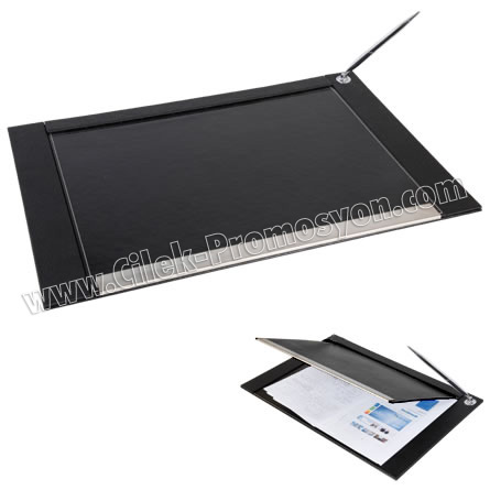 Ucuz Promosyon Ucuz Masa Sümeni Metal Standlı Kalemli GVMS323