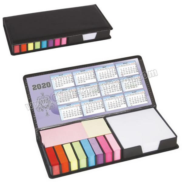 Ucuz Promosyon Yapışkan Notluk Seti 10 Renk Takvimli ve Notluklu AMG13205