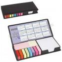Toptan Ucuz Promosyon Yapışkan Notluk Seti 10 Renk Takvimli ve Notluklu AMG13205