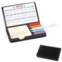 Toptan Ucuz Promosyon Yapışkan Notluk Seti 5 Renk Takvimli ve Notluklu AMG13006