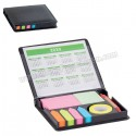 Toptan Ucuz Promosyon Yapışkan Notluk Seti 6 Renk Takvimli ve Kalemli AMG13208